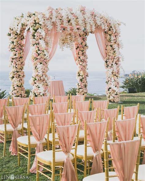 golden wedding table decorations uk 32 sweet blush and gold wedding ideas weddingomania
