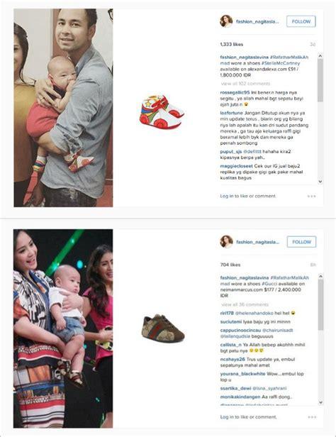 Sepatu Gucci Yf35 Putih 29 masih kecil rafathar anak raffi ahmad sudah pakai sepatu jutaan rupiah kabar berita artikel