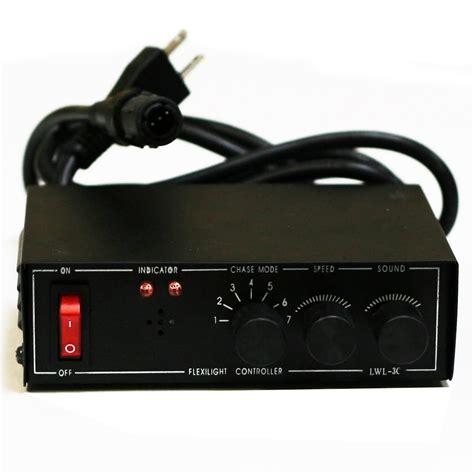 """Rope Light Controllers   3 Wire, 13mm (1/2"""") 6 Function"""