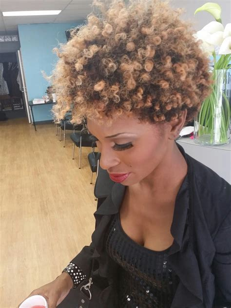 natural hair blonde hair black women hairstyles by
