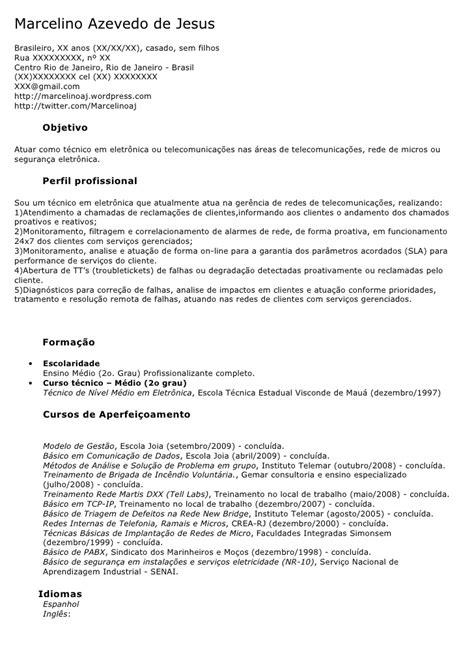 Modelo Curriculum Vitae Tecnico Modelo De Curriculum Vitae Tecnico Modelo De Curriculum Vitae
