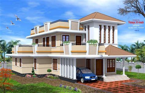 kerala home design exterior sle creative exterior design attractive kerala villa designs