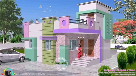 house front view design in india youtube south indian house front elevation designs youtube