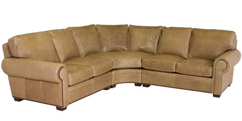 rolled arm leather sofa rolled arm leather sectional sofa with nail trim