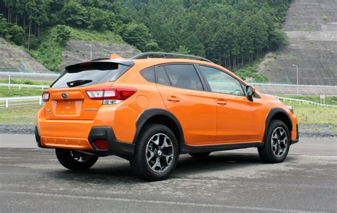 orange subaru crosstrek crosstrek now even more appealing to adventurers wheels ca