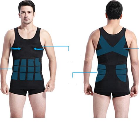 Shaper Slim Waist Kaos Pelangsing vest slimming waist shaper chest tummy wear belly shirt sleeveless