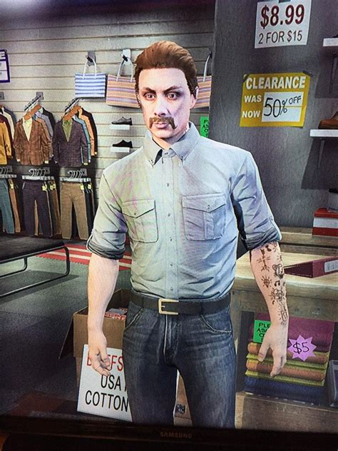 rust cohle tattoo true detective fan creates rust cohle in gta v