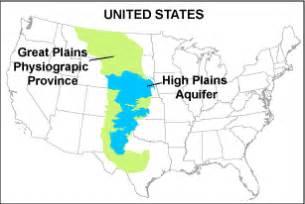 high plains map usgs high plains aquifer wlms physical cultural setting