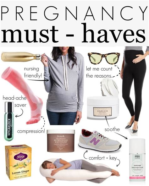 pregnancy must haves for all to be these are items