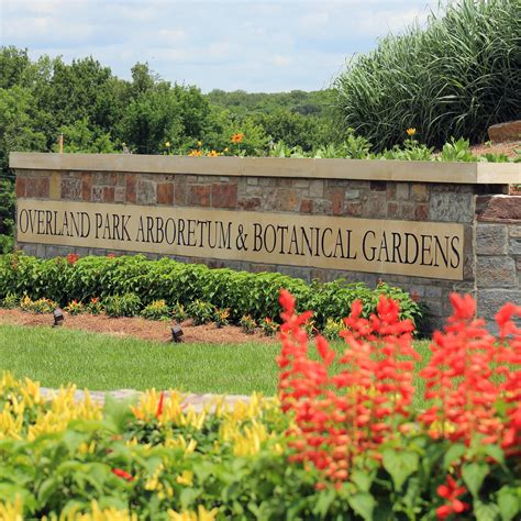 Gardens City Of Overland Park Kansas Overland Park Arboretum And Botanical Gardens