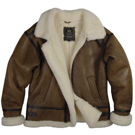 Jaket Bomber Jumbo Original Best Seller alpha industries b 3 sherpa air leather sheepskin