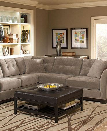 Elliot Fabric Sectional Living Room Furniture Collection by Sofas Grey Sectional And Sectional Living Rooms On