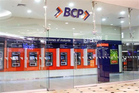 bcp banco banco de credito agencia miraflores prestamos inmediatos