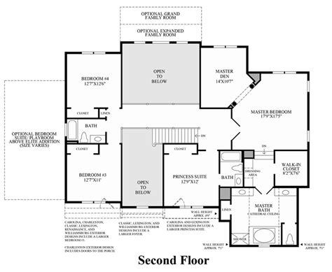 wells cathedral floor plan waverly at the hills at southpoint luxury new homes in