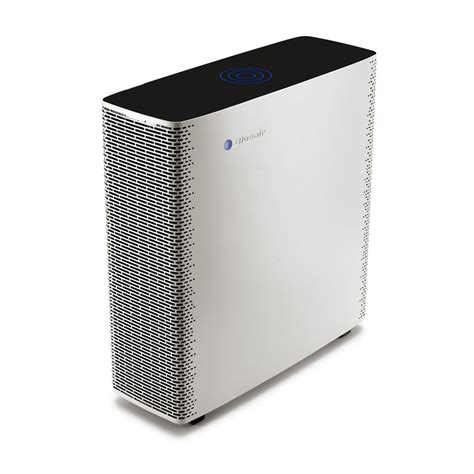 blueair sense air purifier in warm grey from breathing space