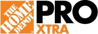 home depot pro xtra pro services savings naa home depot