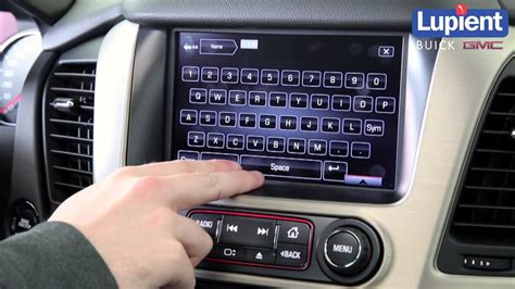 how to set home address in buick gmc intellilink