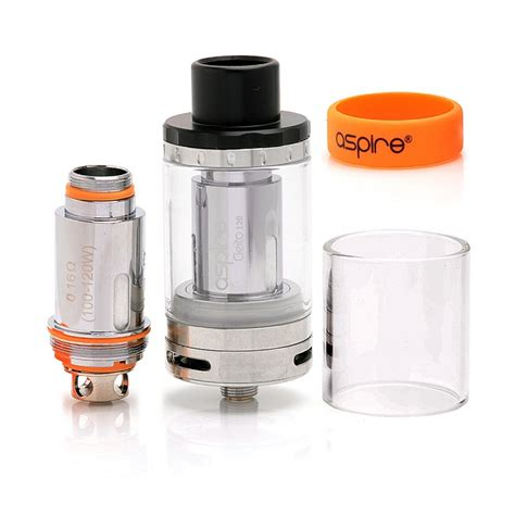 E155 Aspire Cleito 120 Replacement Glass Tank Vape Kaca Penggan authentic aspire cleito 120 4ml 25mm silver sub ohm tank clearomizer