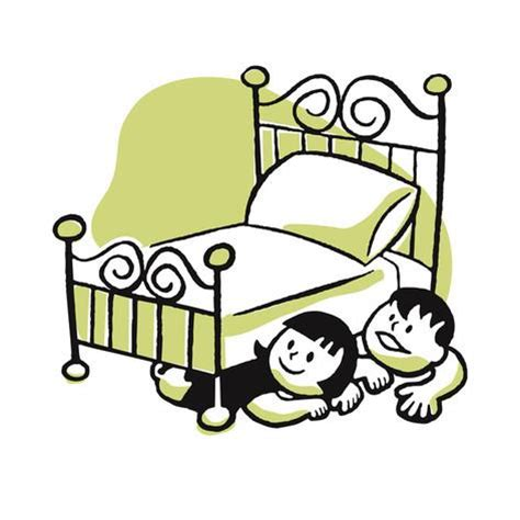 Oversized Wall Art by Children Hiding Under A Bed Posters By Pop Ink Csa
