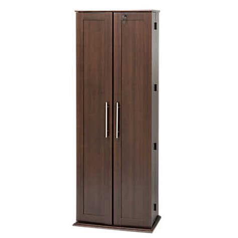 Large Media Cabinet With Doors Large Locking Media Storage Cabinet W Shaker Doors Smart Furniture