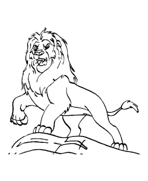 gallery for gt roaring lion head coloring page
