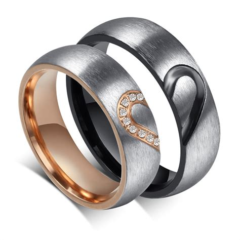 2016 handmade rings shape matching stainless