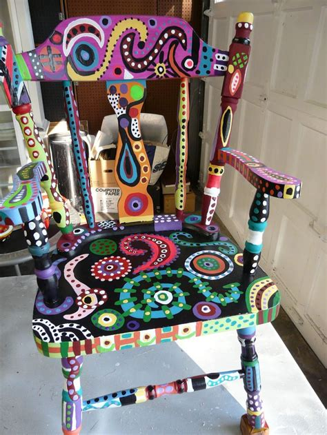 painted chair ideas 1041 best funky furniture images on homes