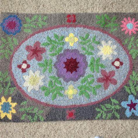yarn rug hooking hooked rug with yarn rug hooking