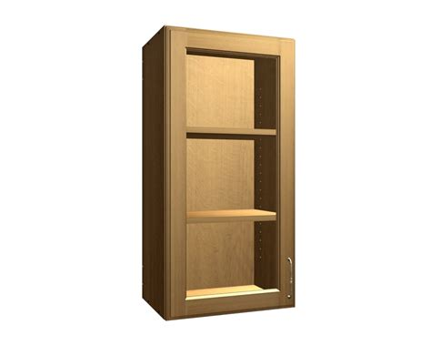 1 door wall cabinet 1 glass door wall cabinet