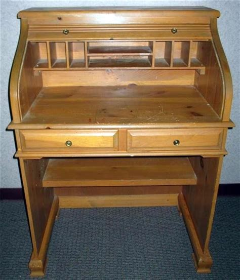 Roll Top Desk Small Small Roll Top Desk Lot 247