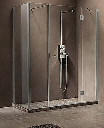 doccia a parete parete doccia angolare di cristallo con lato fisso silis