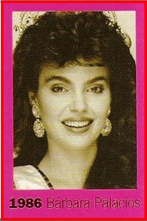 lista de ganadoras y finalistas del miss venezuela monarcas de venezuela miss venezuela 1986 finalistas