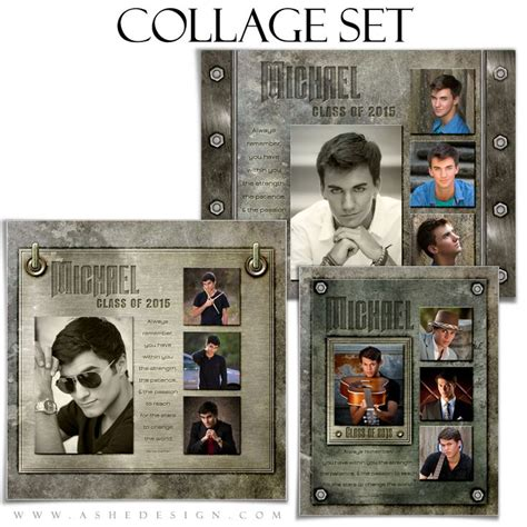 senior photo collage templates 54 best images about collage photoshop templates on