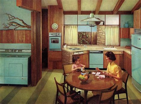 17 best images about retro kitchens dining rooms on