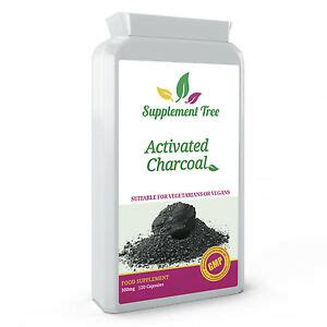 activated charcoal mg  capsules detox digestion
