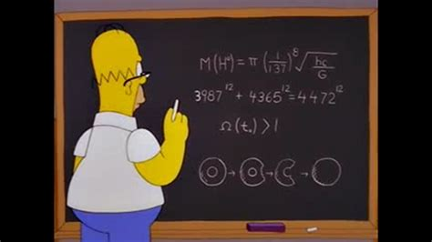 imagenes relacionado con matematicas desapareciendo las matem 225 ticas detr 225 s de los simpsons