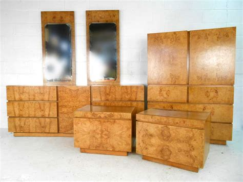 lane furniture bedroom sets stunning mid century burlwood bedroom set by lane