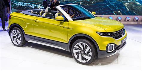 volkswagen t cross concept convertible baby suv