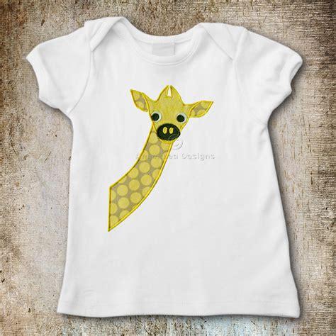 Giraffe Applique by Giraffe Applique Template Lea Designs