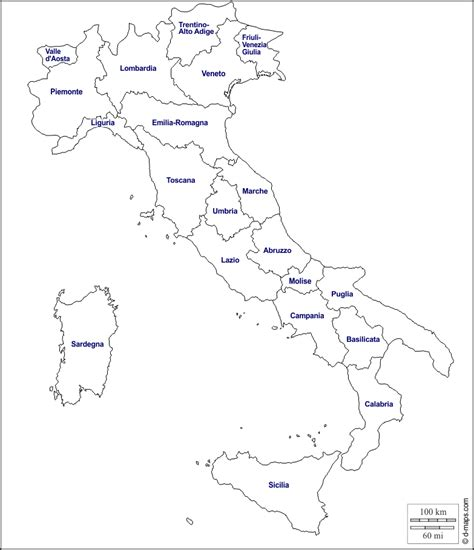 cartina muta italia cartina muta italia regioni toscana
