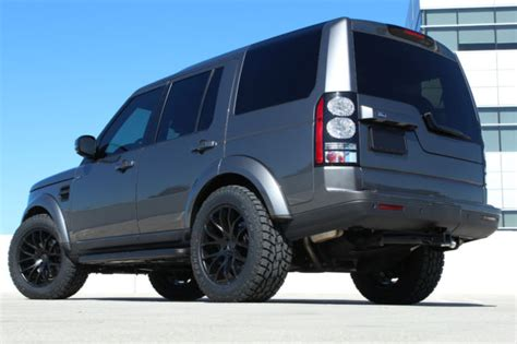 custom land rover lr4 15 land rover lr4 lux edition full custom blacked out one