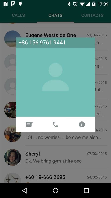 tutorial whatsapp java android how to implement the overlay popup in whatsapp