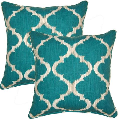 teal colored pillows 25 best ideas about teal throw pillows on