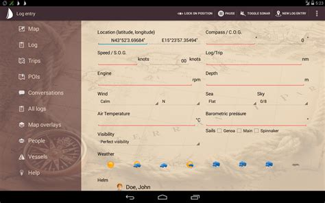 Sailors Log Book sailor s log book android apps on play