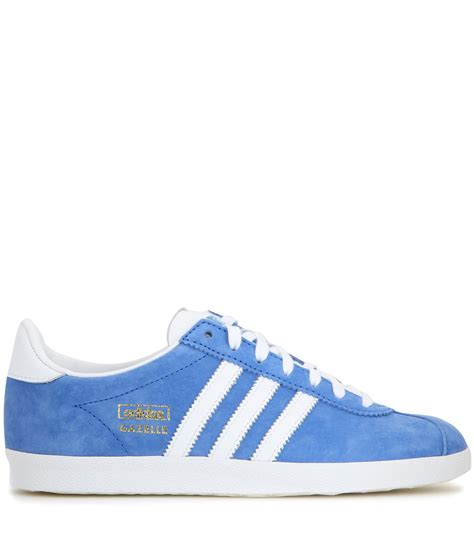 Adidas Gazele Suede adidas originals gazelle og suede sneakers in blue lyst
