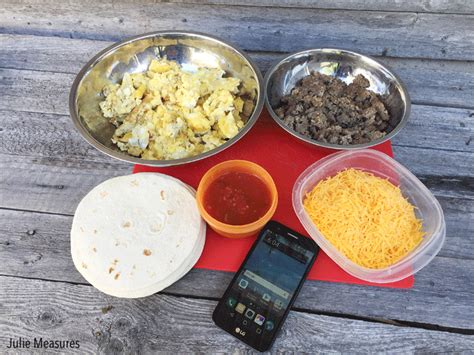 lot of breakfast burritos out there we plan to try a lot of them cfire breakfast burritos julie measures