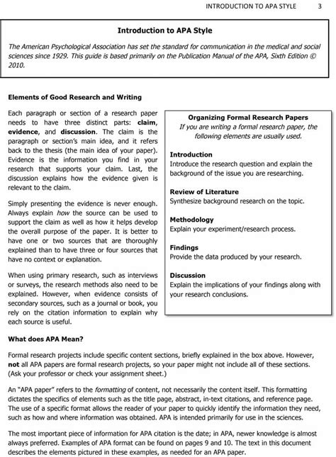 apa style format research paper example coursework academic