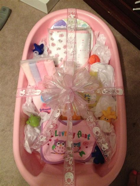 bathroom gift ideas baby bath tub gift idea made this for my sister for her