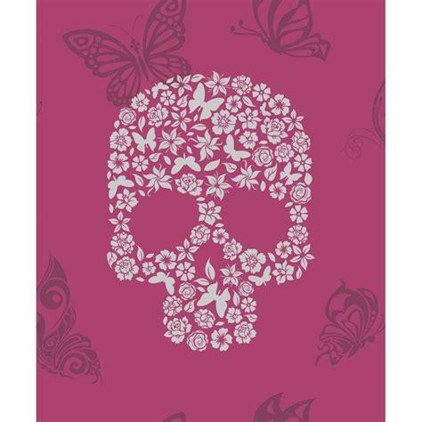 wallpaper skull pink pink skull wallpapers wallpaper cave