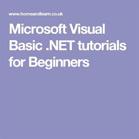 sle vb net programs for beginners the 25 best visual basic tutorials ideas on pinterest